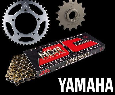 Yamaha RD350 YPVS 83-86  Aluminium Sprocket Nut Kit X6 Black