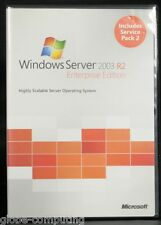 Microsoft Windows Server 2003 R2 Enterprise Edition inc 25 CALs