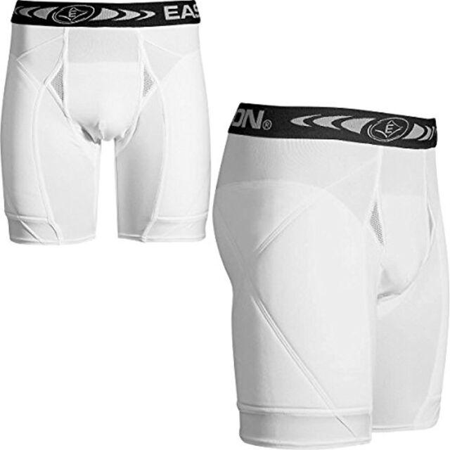 $25 Easton Youth Padded Baseball Sliding Shorts, White new
