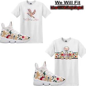 07f342ad4856 We Will Fit shirt match Kith x Nike LeBron 15 Performance King s ...