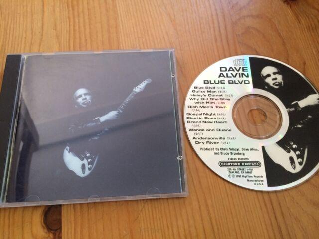 Biete die CD Blue Blvd von Dave Alvin in gutem Zustand