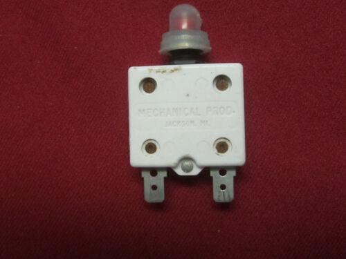 20 AMP MECHANICAL PRODUCTS MARINE CIRCUIT BREAKER    p# 27156