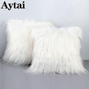 18-034-Christmas-Faux-Fur-Throw-Pillow-Case-Cushion-Sofa-Cover-Xmas-Wedding-Decor