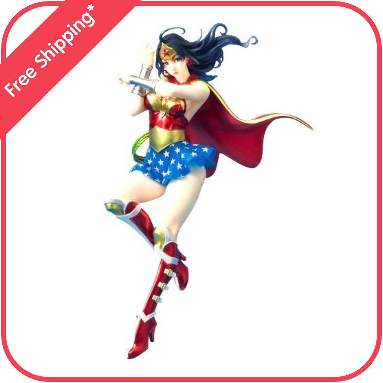 Kotobukiya DC Comics Armored Wonder Woman Bishoujo Figure Statue