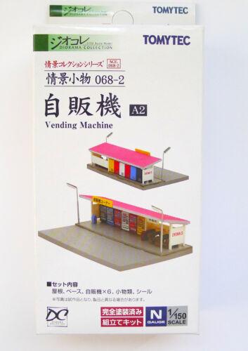 Tomytec N Scale Zyokei Komono 068-2 Roadside Vending Machine A2