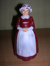Weihnachtsfrau Frau vom Weihnachtsmann / Mrs Claus Figurine Puppenstube 1:12