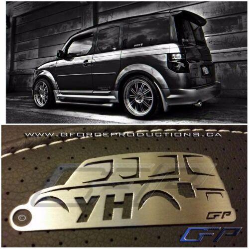 03-12 Honda Element Stainless Steel Custom Keychain JDM YH Y1 H1 SUV