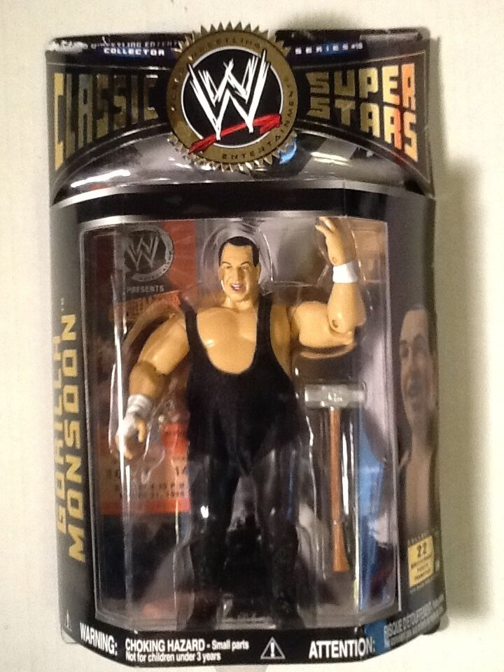 Gorilla Monsoon WWE Classic Superstars 2006 Series 10 Jakks Jakks Jakks Pacific Wrestling bec5b9