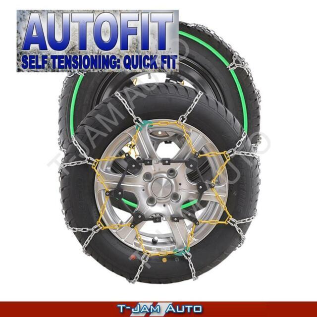 Snow Chains Car 14 15 16 17 18 19 Inch CA100 215/45x18 Wheels Tyres