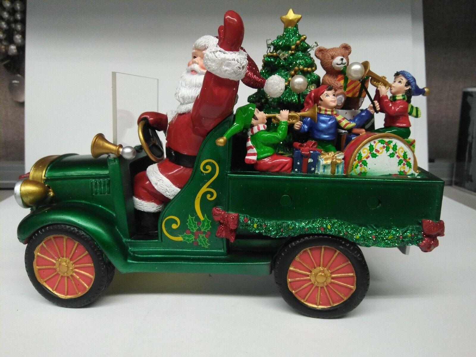 Danbury Mint Here Comes Santa