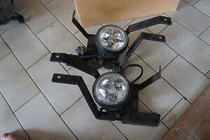 Jdm Honda Raybrig Clear Crystal Foglights Fog Lights Lense