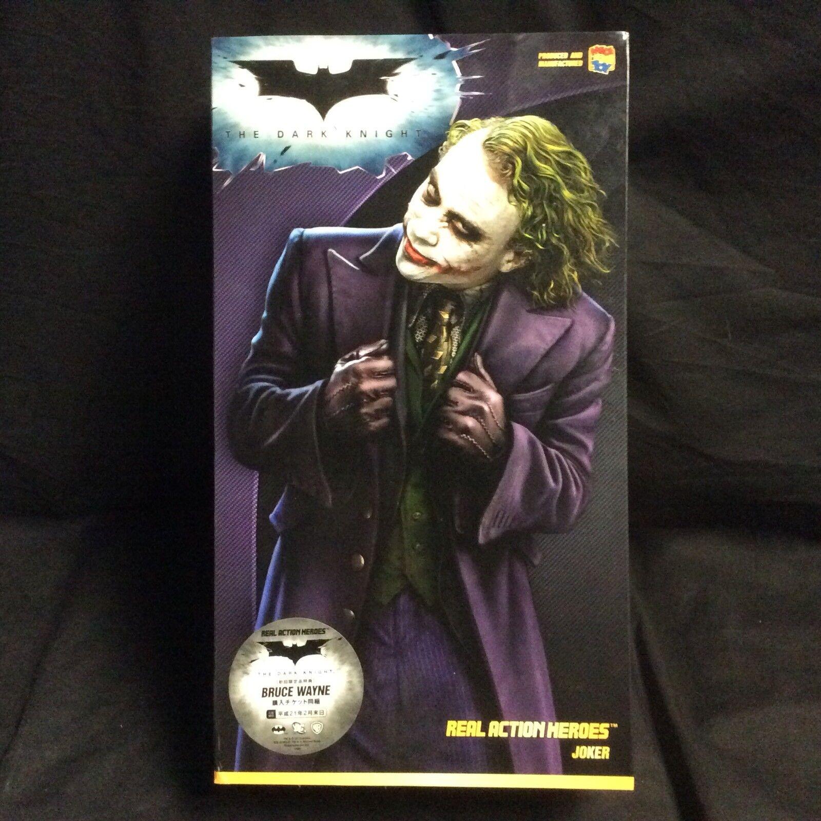 Joker Medicom Batman Dark Knight RAH Sealed Real Action Heroes