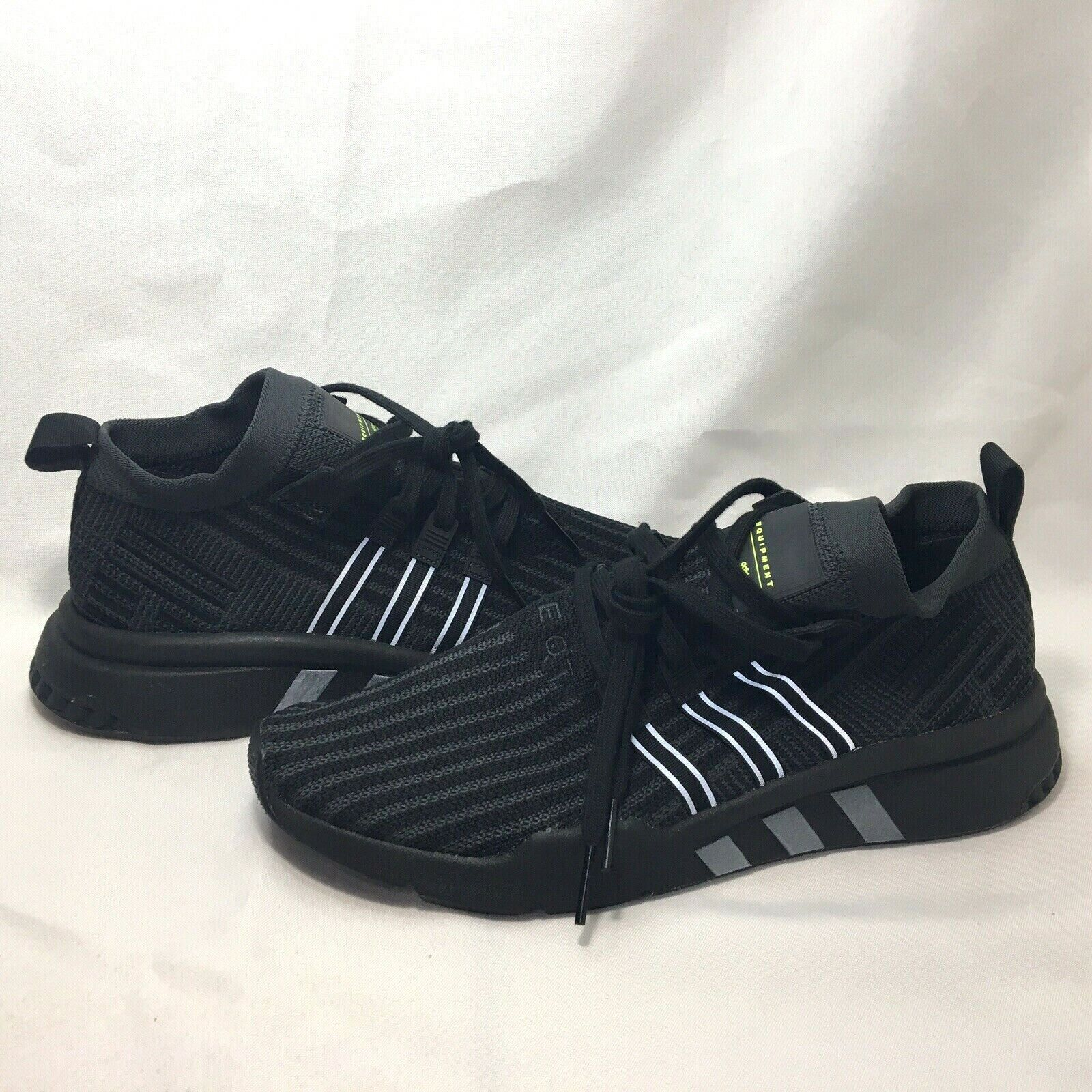 ADIDAS EQT SUPPORT MID ADV 91-18 PK MENS SHOES BLACK CARBON SIZE 12 B37456