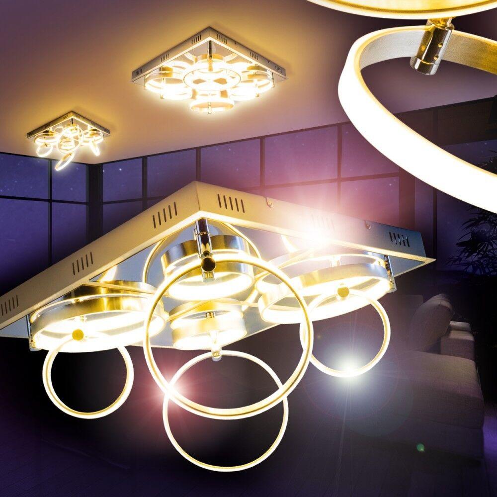 Deckenleuchte Leuchte Deckenlampe Chrom Deckenstrahler
