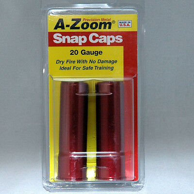 A-Zoom * Precision Metal Snap Caps for 20 guage # 12213 *  New!