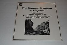 The Baroque Concerto in England~Michael Dobson~Thames Chamber Orchestra