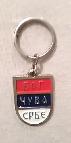 God Save The Serbs Serbia Pendant Bog Cuva Srbe Chetnik Srbija