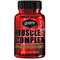 Muscle Complex Starkes Mittel Für Den Muskelaufbau 120 Anabol Tabletten Usa