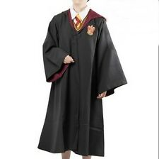 Harry Potter Adult Cosplay Gryffindor Red Costume Cloak Cape Coat Medium Size
