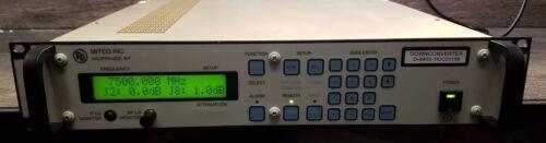 Miteq D-9405-1K-C21139 Downconverter X-Band 7500 mhz FREE SHIPPING
