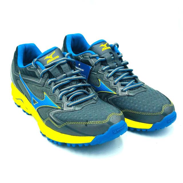 d5db2241ea8e Mizuno Wave Daichi 2 Trail Running Blue Yellow Mens Shoes 410884.975N Multi  Size