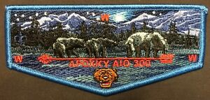 APOXKY-AIO-OA-LODGE-300-BSA-MONTANA-COUNCIL-MOONLIGHT-BEARS-2015-SERVICE-FLAP