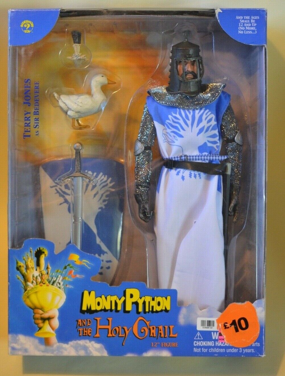 SIDESHOW MONTY PYTHON & THE HOLY GRAIL 1 6 scale Terry Jones SIR BEDEVERE 2001