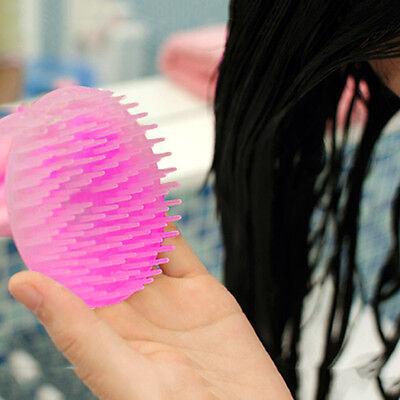 Mini Easy Take Shampoo Shower Body Washing Scalp Brush Massager Comb Hair Care