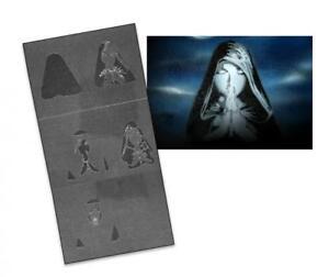 Step by Step Stencil AS-091 cemetery ~ UMR Airbrush Stencil