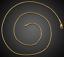 18k-Gold-Schlangenkette-vergoldet-lang-60cm-1MM-duenn-Damen-Herren-Halskette Indexbild 3