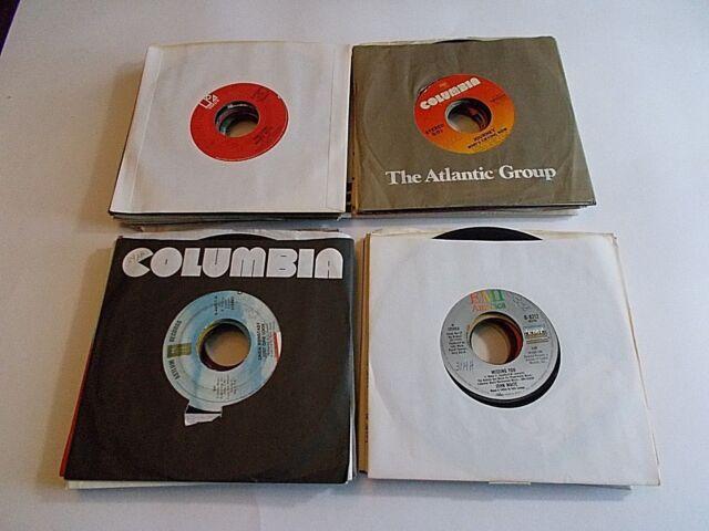 Lot Of 10 45RPM 70s 80s Pop Rock Soul Funk Jukebox Wholesale Random Vinyl Record