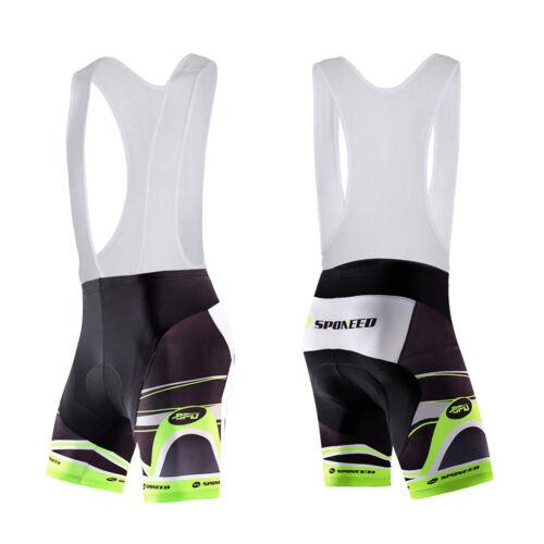 Men/'s Cycling Bib Shorts SpandexTeam Bike Bibs Compression Bicycle Half Pants