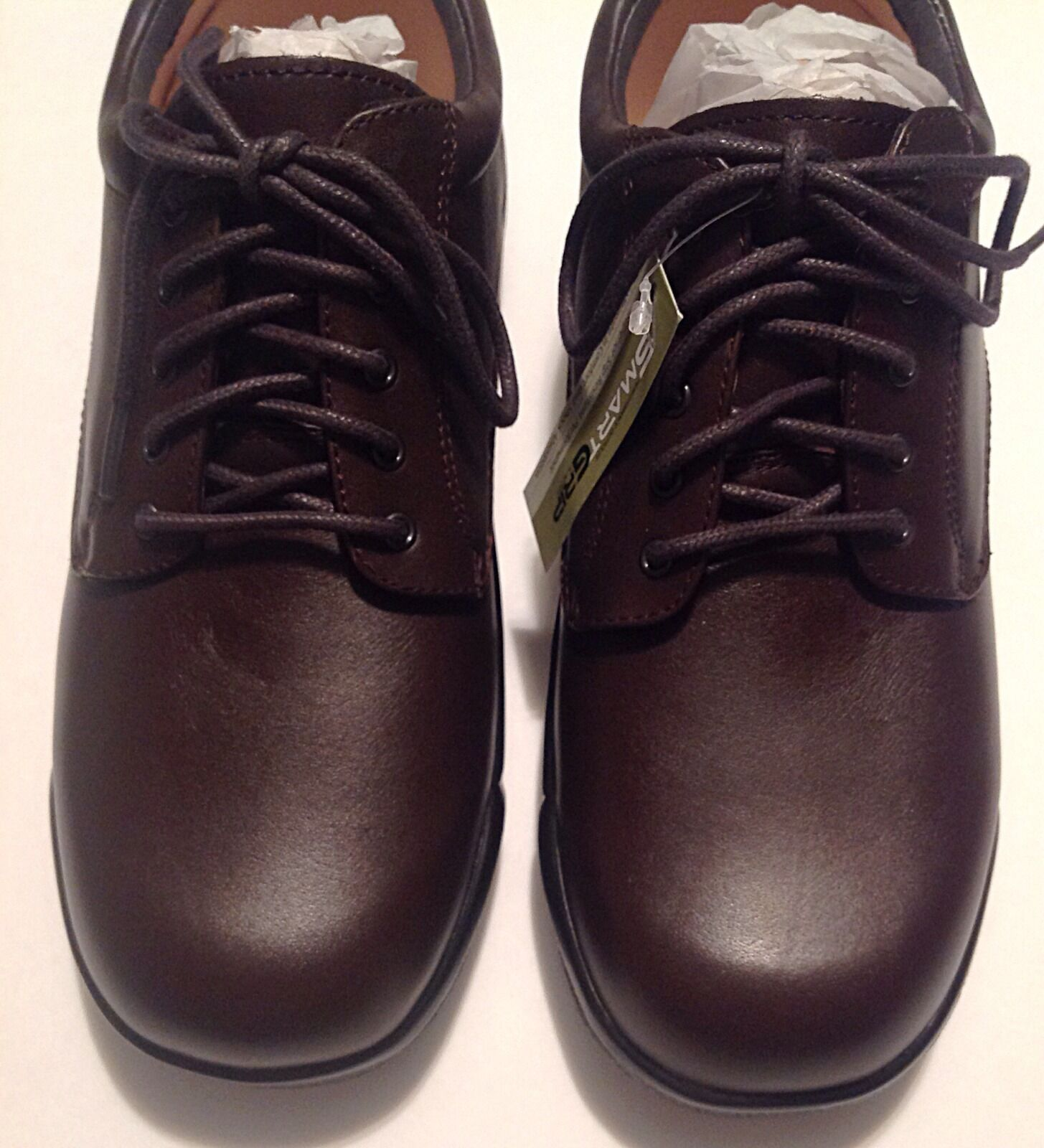 Apex Conform Shoes Oxford Brown Full Grain Leather 9.5M Size 9.5M Leather New Comfort 929122