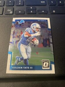 2017 Panini Donruss Optic Football GOLDEN TATE III #55 *LIONS