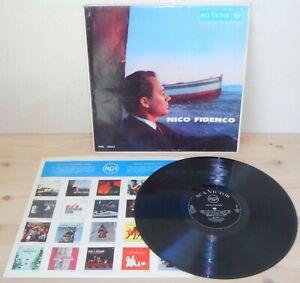 LP NICO FIDENCO s/t (Rca/Europa 61) 1st ps Italian pop Morricone Trovajoli VG+