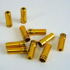 891 gobike88 Jagwire 1.2mm silver derailleur cable end cap 10 pieces per set