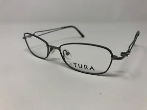 Tura-R208-Women-s-Eyeglass-Frames-Gunmetal-Grey-Full-Rim-50-17-135-Z01