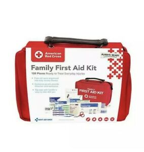 New American Red Cross Family First Aid Kit,120 Count Official License Product