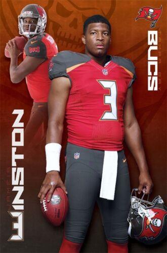 Jameis Winston SUPERSTAR Tampa Bay Bucs NFL Football Action WALL POSTER