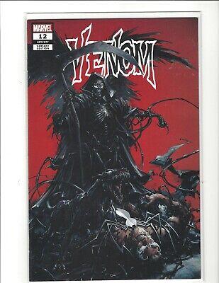 VENOM #12 CLAYTON CRAIN GRIM REAPER VARIANT COVER NM PRESALE