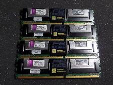 KINGSTON KTM5780/8G FRU 40T6602 DDR2 FB-DIMM 16GB ( 4x 4GB ) #R1117