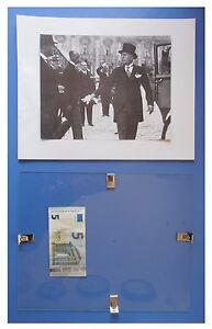 Benito-Mussolini-con-cilindro-al-congresso-duce-fascismo-quadro-cornice-vetro