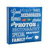 "Arpan Large Ring Binder Slip In Photo Album holds 500 6×4"" photos - Blue AL-9573"