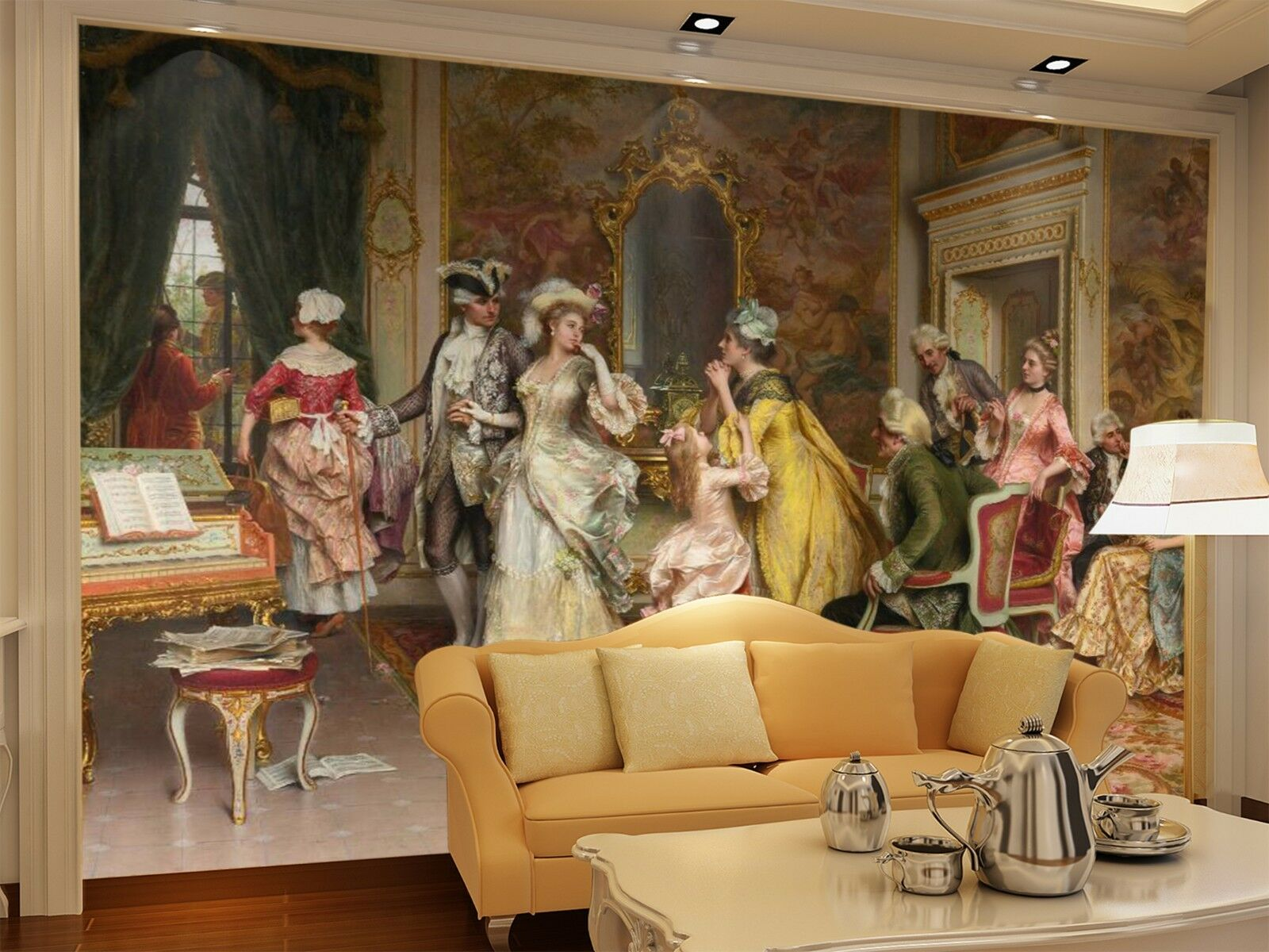3D Lively party 2535 Wall Paper Wall Print Decal Wall Indoor Murals Wall US