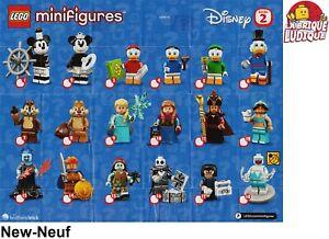 Lego-figurine-minifigure-sachet-serie-serie-Disney-2-au-choix-71024-NEUF