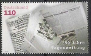 En Herbe Bund Nº 2123 ** 350 Ans Quotidiens 2000, Cachet-afficher Le Titre D'origine Facile à RéParer