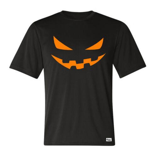 "Eaks ® T-Shirt Hommes /""Halloween Pumpkin-Head/"" Noir Citrouille Tête Fun Fête"