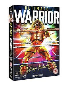 WWE Ultimate Warrior - Always Believe [3x DVD] *NEU*