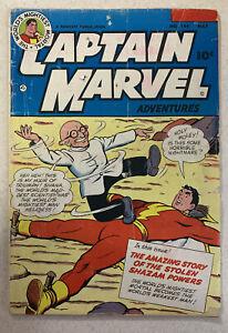 Captain-Marvel-Adventures-144-Faucett-05-53-Dr-Sivana-Cover-Appearance