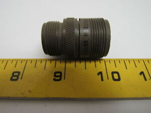 Details about Amphenol MS3101A16S-1P Circular MIL Spec Connector 7P#16 PIN  Contacts